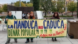"""""""La Manduca no caduca"""" és la campanya posada en marxa per l'Associació dels Natiralistes de Girona (imatge: Naturalistes de Girona)"""