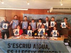 Més de noranta entitats socials i partits s'han sumat a la mobilització. Font: Aigua és Vida