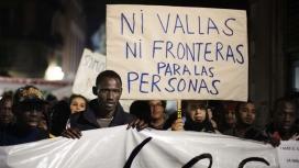 Manifestació a Barcelona pel Dia internacional de les persones migrants