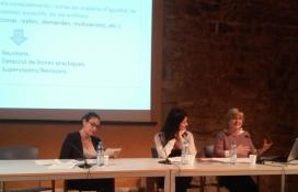 Acte de presentació del 'Manual sobre la incorporació de la perspectiva de gènere i mesures d'igualtat per a entitats'. Font: Suport Associatiu