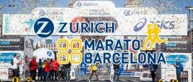 El cartell de la Zurich Marató de Barcelona. Font: Zurich Marató de Barcelona.