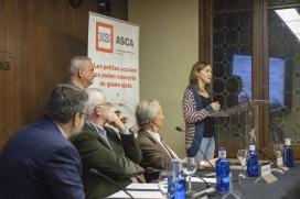 Acte de lliurament dels Premis Piñol 2016. Font: Acció Solidària contra l'Atur