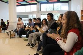 Una trobada a la Fundació Marianao de Sant Boi de Llobregat