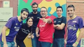 L'equip de la Fundació Marianao que ha participat a l'OI-Trailwalker