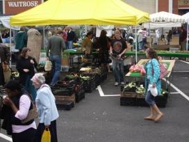 Mercat de productes locals a Anglaterra (Font: flickr.com)