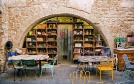 Restaurant de Mescladís per dins. Font: mescladis.org