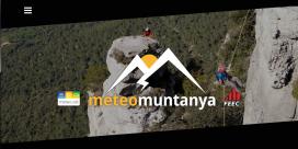 Neix el portal meteomuntanya per reunir informació meteorològica d'utilitat a les activitats de muntanya (imatge: meteomuntanya.cat)