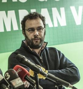 Miguel Alba, representant d'Oxfam Intermon a la Plataforma por la Justicia Fiscal