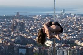 Mini Martí, la responsable del taller de dansa a la presó de dones de Barcelona. Font: Eli Mora Photography