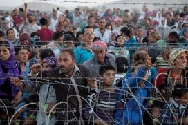 Milions de persones sirianes fugen de la guerra de Síria buscant un país que els aculli com a persones refugiades