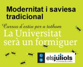 Cartell dels cursos d'estiu de la UB