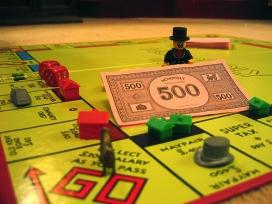 Fotografia del joc de taula del Monopoly. Galeria de David Muir al Flickr.