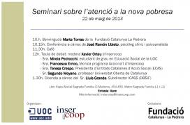 Programa del seminari