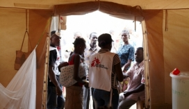 Atenció de MSF a RCA (Font: MSF)