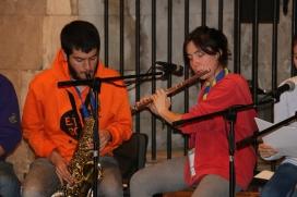 La música també forma part de l'experiència de voluntariat - Foto: AM