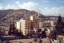 Nablus, territori on es realitzarà el camp de treball. Font: Wikipedia