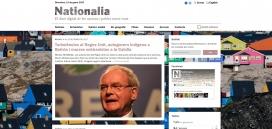 Nationalia, el diari digital de les nacions i els pobles sense Estat. Font: Nationalia