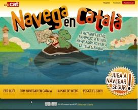 Imatge de la web de la campanya