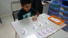 Nen participant a una activitat d'Ampans: Font: Pàgina de Facebook d'Ampans