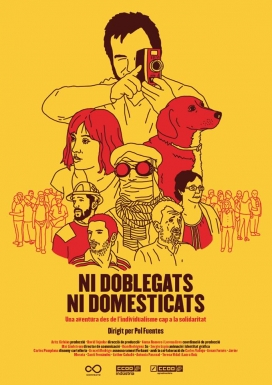 """Dijous 14 de juliol """"Ni doblegats ni domesticats""""  / Font: Consell de la Joventut de Barcelona"""