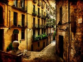 Streets of Girona. Fotografia de l'usuari Flickr Toni Verdú Carbó