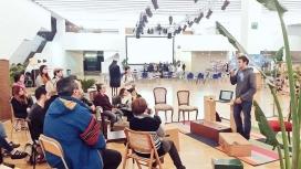 Presentació del projecte durant el Barcelona Ethical Fashion Fest 2017