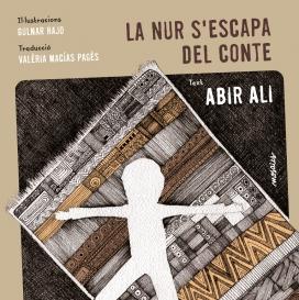 """Portada del Llibre """"La Nur s'escapa del conte"""""""