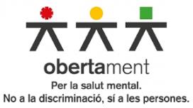 Obertament integra diverses entitats catalanes que treballen en l'àmbit de la salut mental. Font: Obertament
