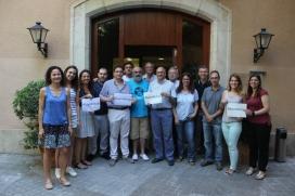 Equip de treball dels serveis centrals dels Salesians a Catalunya on té la seu l'ONGD Vols.