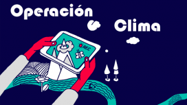 Il·lustració campanya video documental participatiu 'Operación Clím'