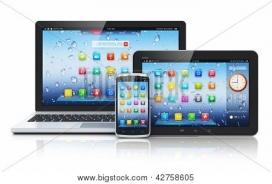 Utilitzant una pantalla i un, o varis, dispositiu mòbil, podreu estalviar paper.