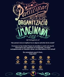 Cartell de crida de voluntariat per a La iMAGInada.