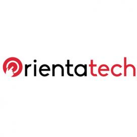 Logotip del portal web OrientaTech
