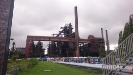Antiga fàbrica de gas d'Ostrava que acollirà l'Aplec Internacional.