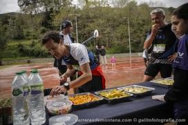 La cursa consistia en 100 quilòmetres des d'Olot fins a Sant Feliu de Guíxols. Font: Toni Galitó