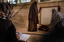 Noies a la Palestina ocupada