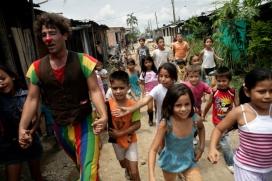 Pallassos Sense Fronteres a Colòmbia