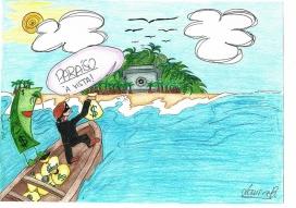 Il·lustració d'un paradís fiscal. Font: Laura B., Flickr