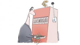 Vinyeta crítica amb els paradisos fiscals. Font: Niels Bo Bojesen