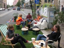 L'espai públic de qualitat com a espai on posar en comú companya  i reflexions (imatge: parkimgday)