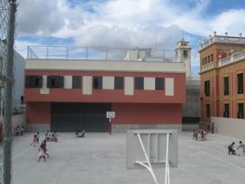 Pati de l'escola Jacint Verdaguer. Font: el3.cat