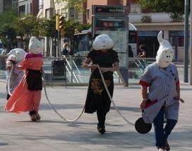 Acció teatral al carrer