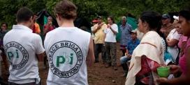 Les PBI Colòmbia amb les comunitats rurals. Font: PBI