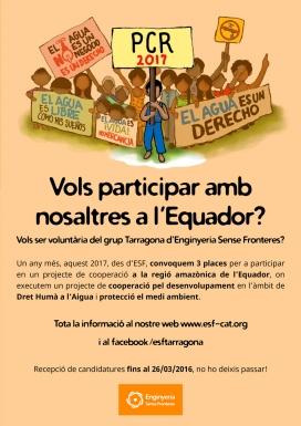 Voluntariat a l'Equador amb Enginyeria Sense Fronteres Tarragona