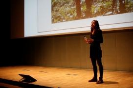 Mireia Barba va presentar el projecte contra el malbaratament alimentari  Espigoladors (imatge: flickr/barceloncentrededisseny)