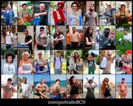 Fotografia de persones diverses. Galeria de 1000portatraitsbcn al Flickr.