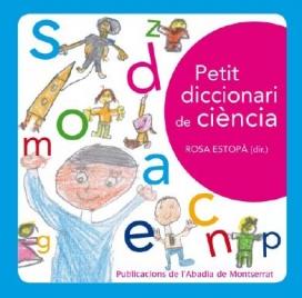 Portada de la versió en paper del Petit diccionari de la ciència (2012)