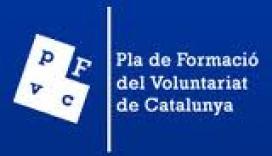 Logotip Pla Formació Voluntariat de Catalunya