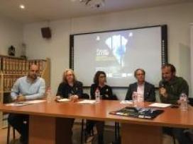 Presentació de l'acte de suport als presos polítics 'Faran el cim! Un cim per al llibertat'