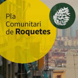 Logotip del PDC d'aquest barri de Barcelona, al districte de Nou Barris
